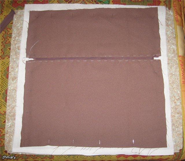 Как сшить наволочку с молнией на декоративную подушку