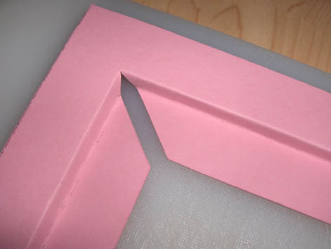 Как сделать паспарту из картона фото