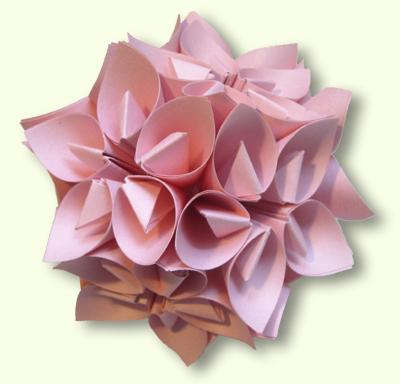 """Модульное оригами - кусудама """""""