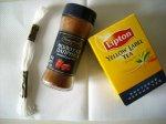 Окраска канвы чаем и красным перцем методом кипячения